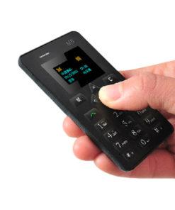 Mini Celular de Bolso GSM com Bluetooth