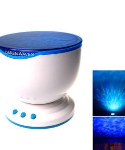 Luminária Projetor de Oceano Relaxante com Alto-falante