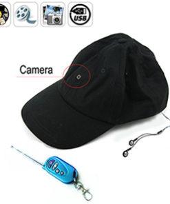 Boné Espião c/ MP3 e Controle Remoto