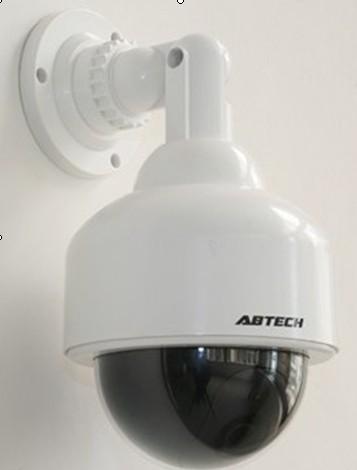 Câmera Falsa de Segurança Estilo PTZ com LED Piscando - Inibe a Presença de Ladrões