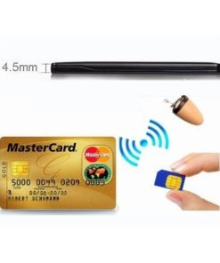 Micro Escuta em Forma de Cartão de Crédito