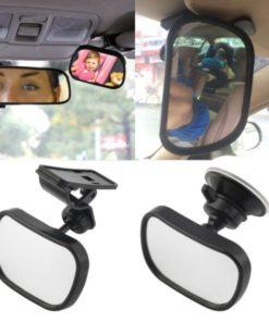 Espelho Retrovisor para Carro com Ventosa para Fixação