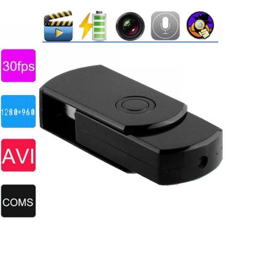 Pendrive Espião HD com Detecção de Movimento