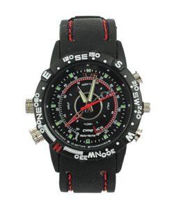Relógio Espião Esportivo Alta Definição à prova dágua c/ 8GB de memória