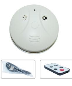 Alarme de Incêndio com Câmera Espiã, Gravador de Voz, Sensor de Movimento, HD