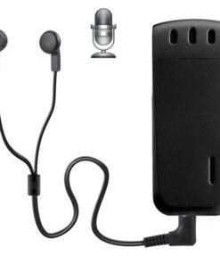 Micro Gravador de Voz, Grava 18 Horas Sem Parar, Mp3