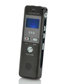 Gravador de Chamada para Telefone Fixo e Telefone Móvel com Sensor de Voz, Microfone Externo
