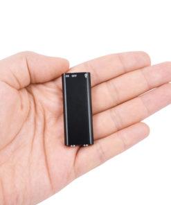 Micro Gravador de Voz, Grava 10 Horas Sem Parar, Mp3 Player