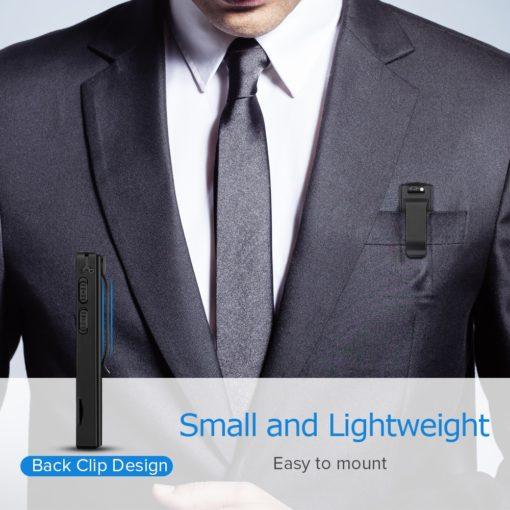 Mini Câmera Espiã, Gravador de Voz, Sensor de Movimento, Gravação Contínua, Full HD